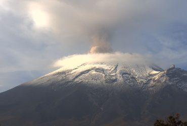 Reporte monitoreo volcán Popocatépetl