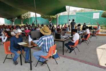 Sin Contratiempos Finaliza Tercer día de Vacunación para Profesionales de la Educación en Morelos