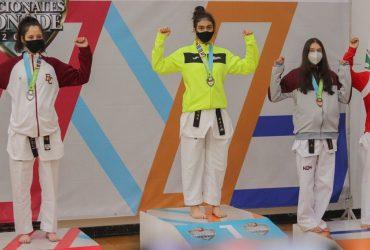 Sube Morelos a lo más alto del podio nacional gracias a la disciplina de taekwondo