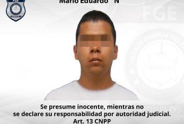 Agentes Investigadores de la FGE ejecutan aprehensión contra masculino por robo de vehículo y robo calificado