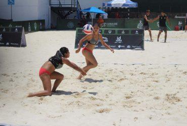 Concluye participación de selección morelense de voleibol playa en juegos nacionales Conade 2021